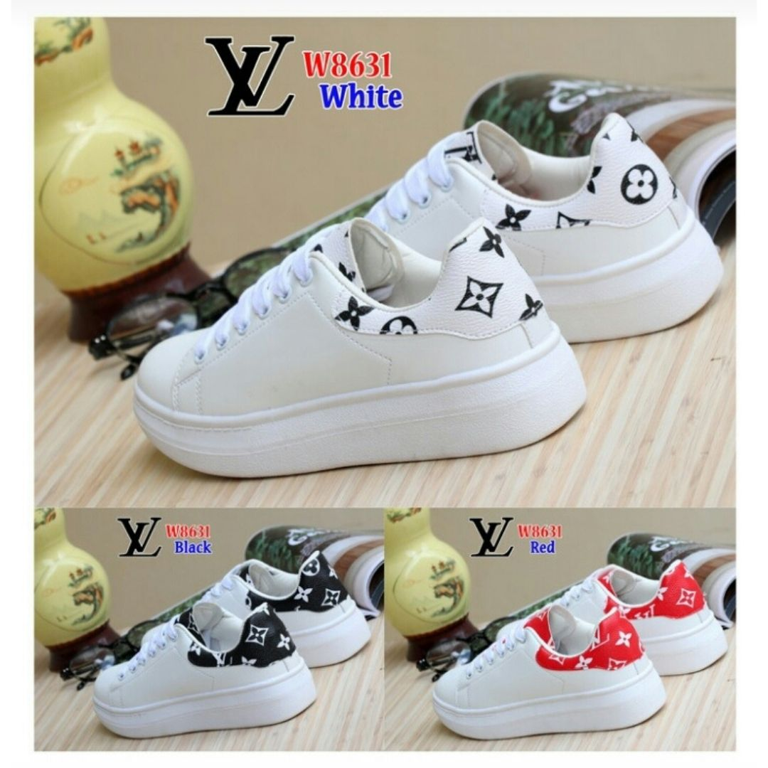 Sneaker Shoes LV White