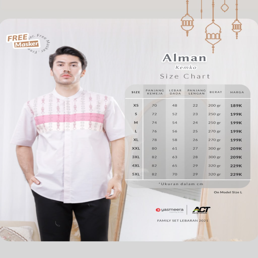KEMKO ALMAN XXL-3XL (FAMILY SET SERIES 2021)