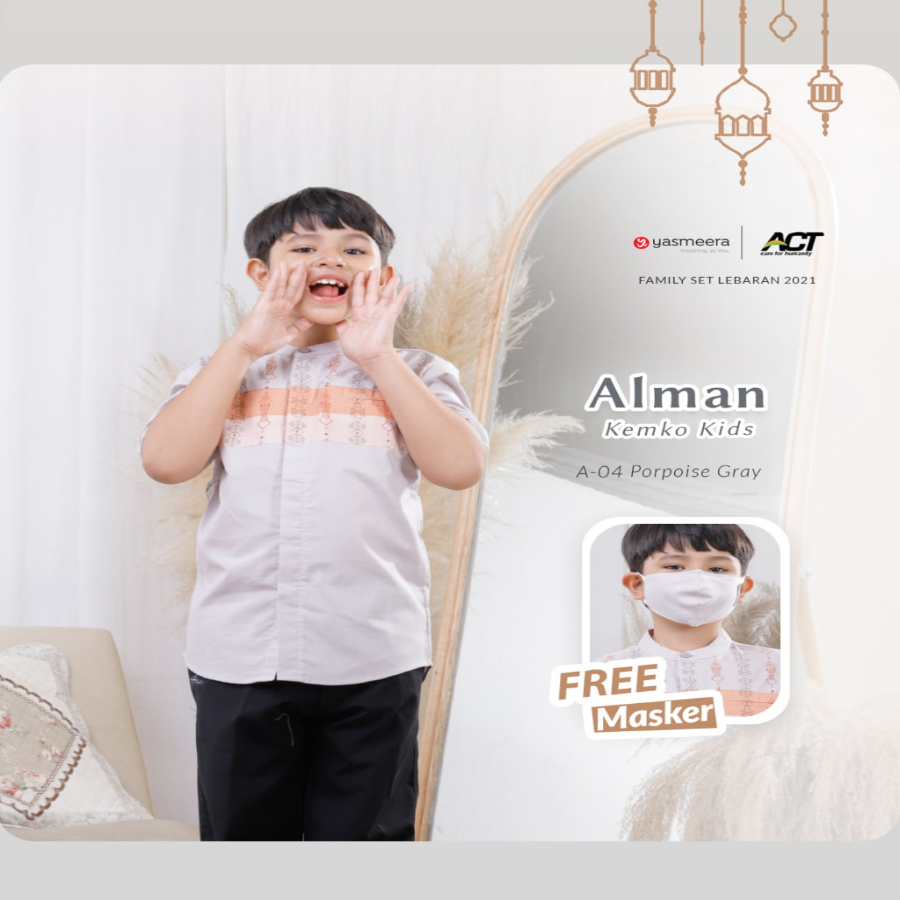 KEMKO ALMAN KIDS XS-S (FAMILY SET SERIES 2021)